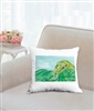 """Snake #2"" Throw Pillow"