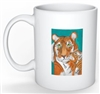 """Tiger's Kiss"" Coffee Cup"