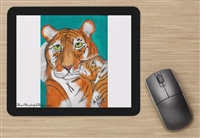 """Tiger's Kiss"" Mouse Pad"