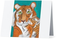 """Tiger's Kiss"" Note Cards"
