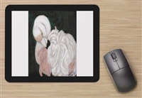 """Flamingo #1"" Mouse Pad"