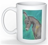 """Donkey #1"" Coffee Cup"