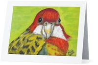"""Parakeet #9"" Note Cards"