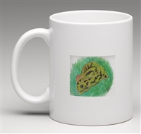 """Marbled Newt"" Coffee Cup"