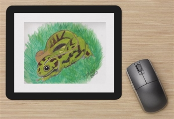 """Marbled Newt"" Mouse Pad"