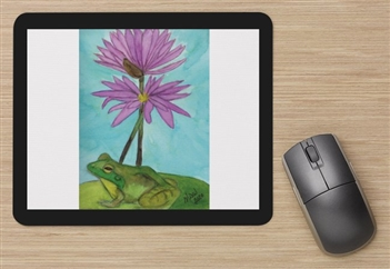 """Frog #3"" Mouse Pad"
