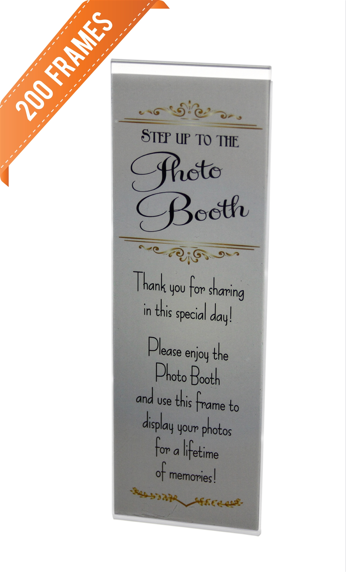 wholesale magnetic acrylic photo booth frames image - Wholesale Picture Frames
