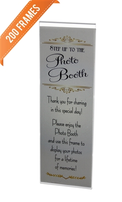 Wholesale Magnetic Acrylic Photo Booth Frames Image
