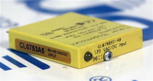 Fisher-Rosemount Systems, 120VAC/DC Input, P/N - CL6753X1-A5