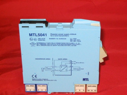 Measurement Technology Ltd Repeater Power Supply M N