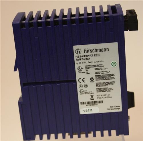 Hirschmann Rail Switch P N Rs2 4tx 1fx Eec