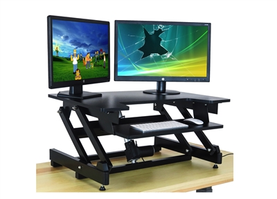 Electric Standing Desk - Requires ZERO Lifting