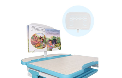Book Holder for Kids Standing Desk - Ergonomic Adjustable Height