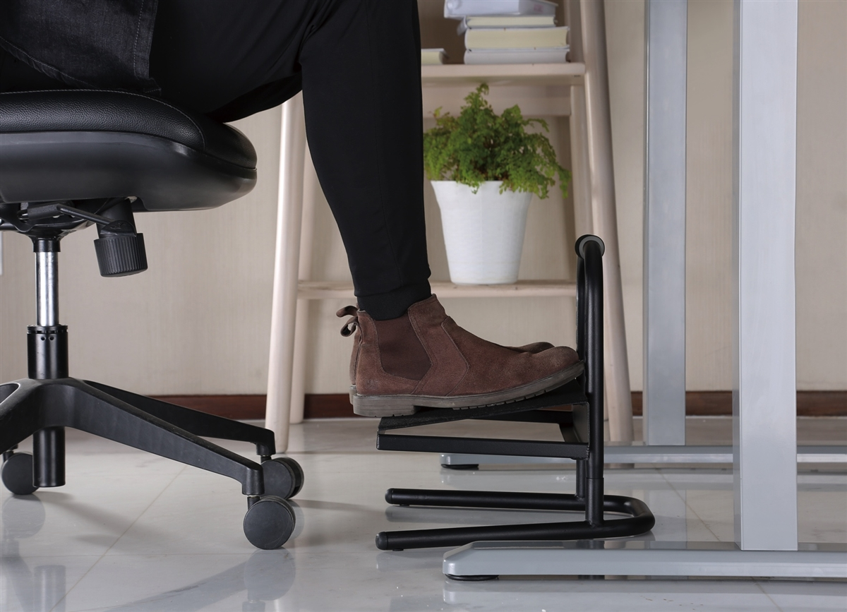 Standing Desk foot stool adjustable height between 6 inches and 11 inches high