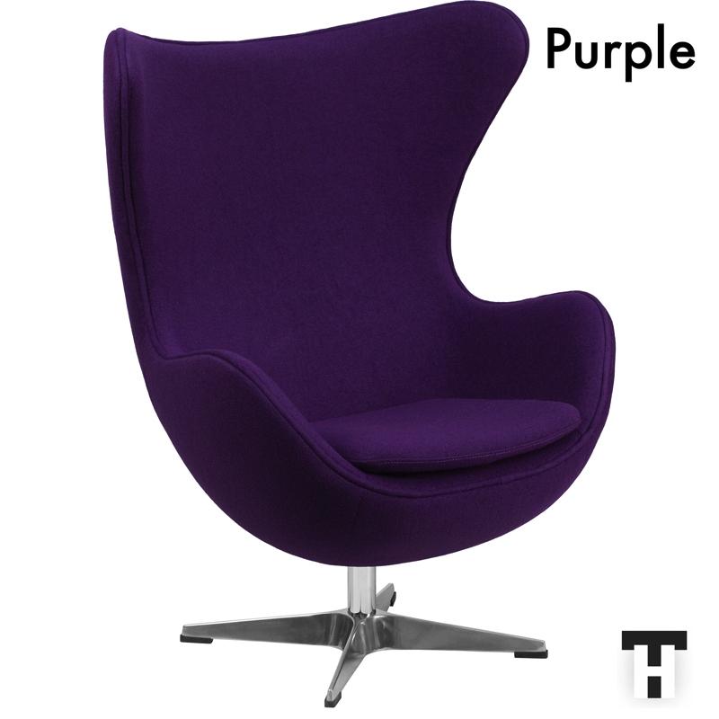 Egg Chair Arne Jacobsen Kopie.Egg Chair Red By Arne Jacobsen Modern Reproduction Furniture