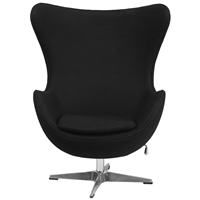 Egg Chair by Arne Jacobsen in Black