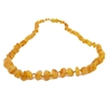The Amber Monkey Baltic Amber 17-18 inch Necklace - Raw Honey