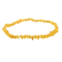 The Amber Monkey Baroque Baltic Amber 10-11 inch Necklace - Raw Honey