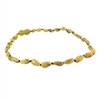 The Amber Monkey Baltic Amber 10-11 inch Necklace - Raw Pear Bean