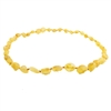 The Amber Monkey Baltic Amber 14-15 inch Necklace - Raw Lemon Bean Discontinued