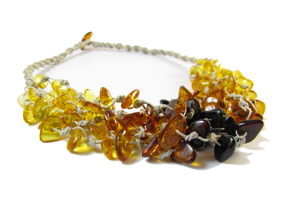 Amber Necklace 18 inch