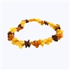 The Amber Monkey Baltic Amber 21-22 inch Necklace - Multi Knots