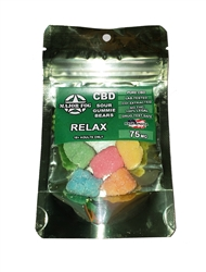 Major Fog Sour Gummie Bears 75mg