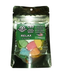 Major Fog Sour Gummie Bears 150mg
