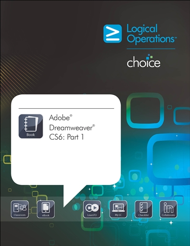 Logicalchoice adobe dreamweaver cs6 part 1 electronic training bundle fandeluxe Image collections