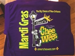 T-Shirt Mardi Gras - Purple