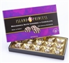 Kahakea Milk Chocolate Covered Macadamia Nuts with White Drizzle Gift Box