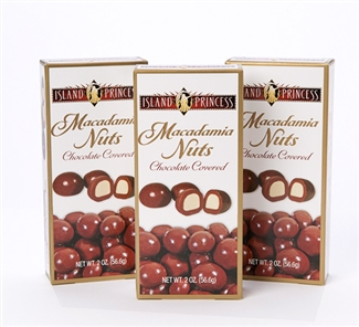 Chocolate Covered Macadamia Nuts