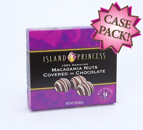 Kahakea Chocolate Mac Nuts 3oz Small Gift Box Case Of 10 Boxes