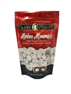 Aloha Almonds Resealable Bag 7 oz