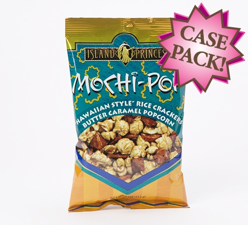 Mochi Pop Crunch 4oz Snack Bag Case Of 12 Bags
