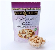 Lightly Salted Macadamia Nuts resealable Bags