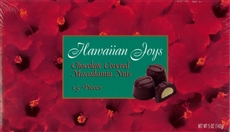 Hawaiian Joys Mac Nuts 5oz Gift Box