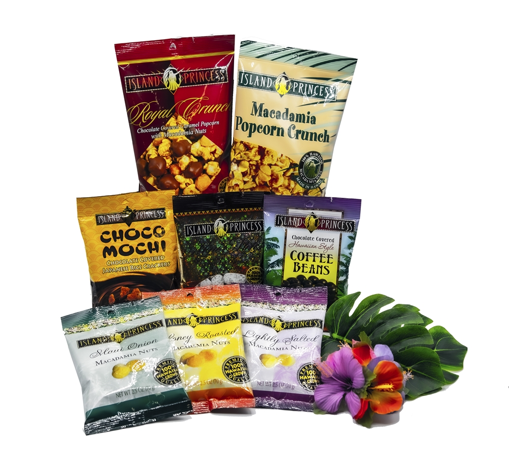 Hawaiian care package gift set comes with 9 different for Aloha package homes