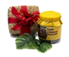 Choco Mochi - Chocolate Covered Arare Gift Jar in hand woven lauhala gift box