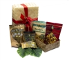 E Komo Mai Gift Basket - Comes with different sizes of our luscious Mele Macs & award winning Caramel Popcorn