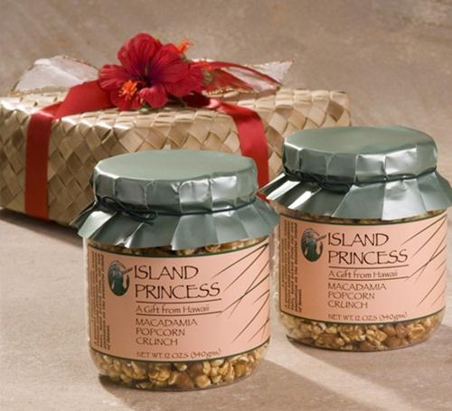 Macadamia Caramel Popcorn Crunch Gift Basket