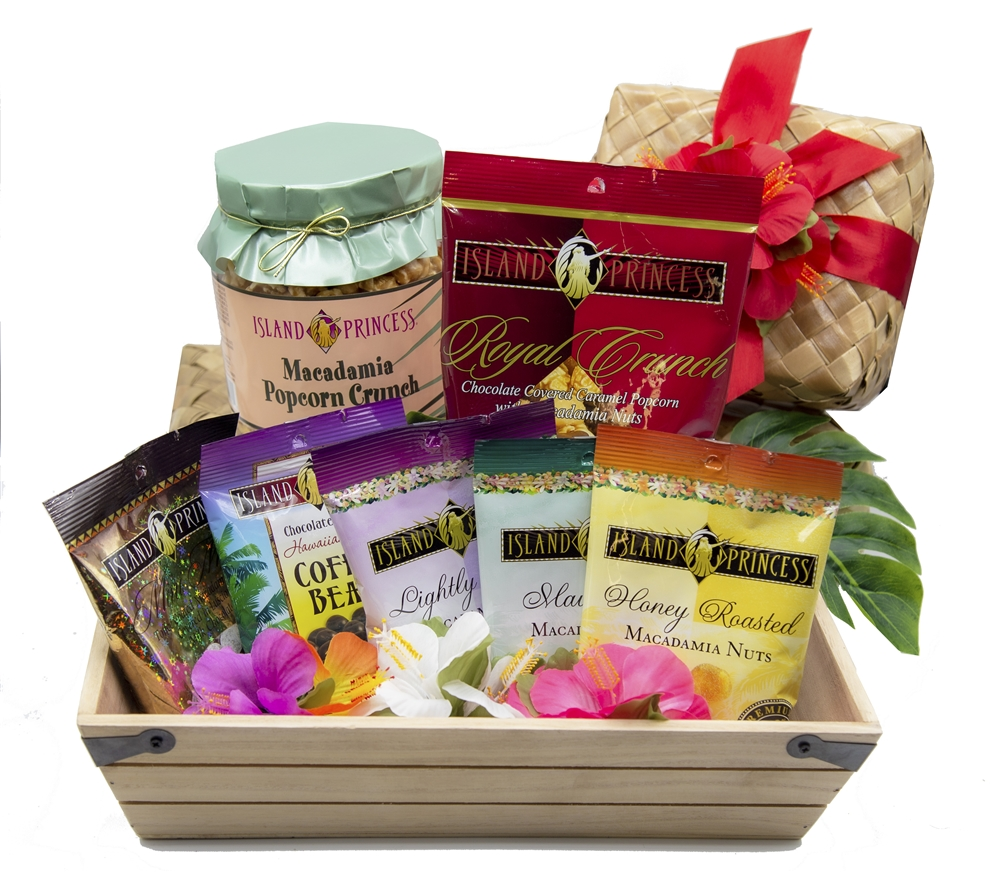 Taste of Paradise Gift Basket gourmet selection of seven of our ...