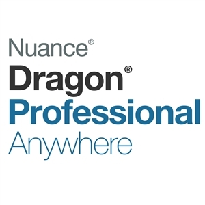 Nuance Dragon Professional Anywhere 3 Month Subscription