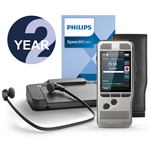 Philips DPM6700/03 PocketMemo Starter Set with SpeechExec V11 - 2 Year License