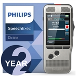 Philips DPM7200/02 Digital PocketMemo with SpeechExec Standard v.11 2 Year License
