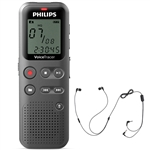 Philips DVT1110 VoiceTracer with Smartphone Recording Adapter