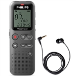 Philips DVT1110 VoiceTracer with TP-8 Pickup