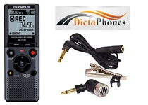 Olympus VN-711PC with ME-52 Directional Microphone