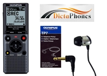 Olympus VN-711PC with TP-8 Telephone Pick-Up