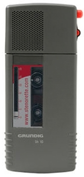 Grundig SH-10 Stenocassette Dictation Machine (Refurb)